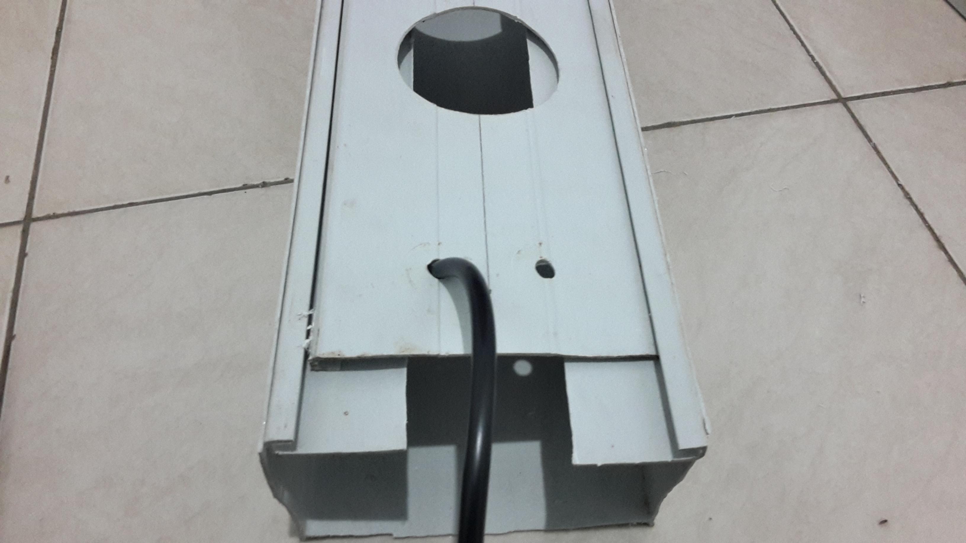 Cara membuat gully hidroponik sistem NFT dari talang air